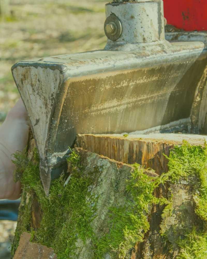 wood splitting durham nc