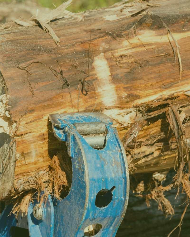 wood splitting near me